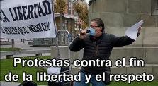 Concentración en Valladolid por las Durísimas Leyes represoras tomadas en España by Mundo Desconocido