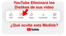 YouTube Eliminará los Dislikes de sus videos, ¿Qué oculta esa medida? by Mundo Desconocido